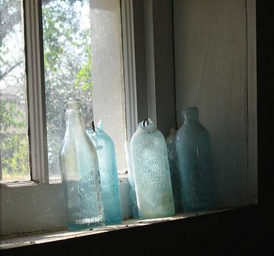 Texas Bottles Poster
