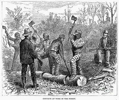 Texas: Chain Gang, 1874 Poster by Granger