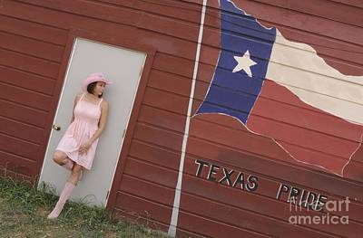 Poster featuring the photograph Texas Pride by Sherry Davis