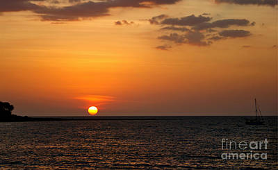 Thai Sunset Poster
