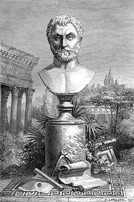 Thales, Ancient Greek Philosopher Poster by