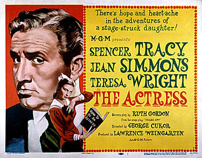 The Actress, Spencer Tracy, Jean Poster by Everett