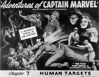 The Adventures Of Captain Marvel, Tom Poster
