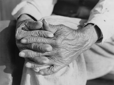 The Aged Hands Of Mr. Henry Brooks Poster