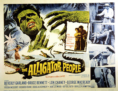 The Alligator People, Richard Crane Poster