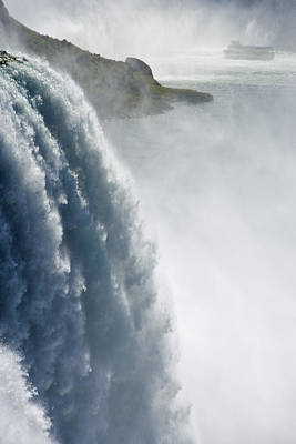The American Falls And Maid Poster by Darwin Wiggett