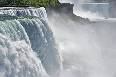 The American Falls From Prospect Point Poster by Darwin Wiggett