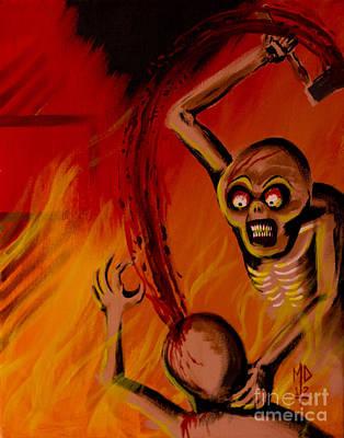 The Arson Murders Poster by Matt Detmer