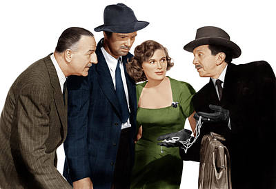 The Asphalt Jungle, From Left Louis Poster