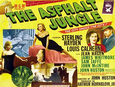 The Asphalt Jungle, From Upper Left Poster by Everett