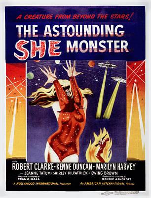 The Astounding She-monster, Poster Art Poster