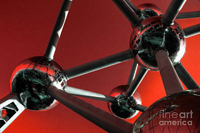 The Atomium Poster by Rob Hawkins