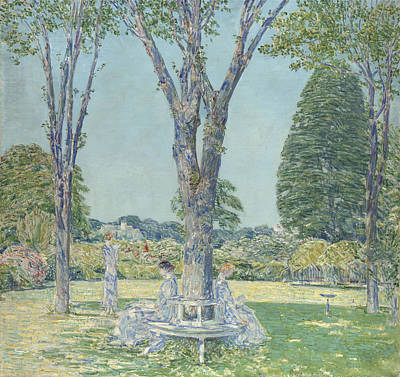 The Audition Poster by Childe Hassam