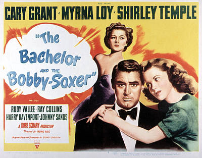 The Bachelor And The Bobby-soxer, Cary Poster by Everett
