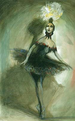 The Ballerina Poster by Gregory DeGroat