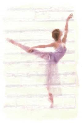 The Ballerina Poster by Steve K
