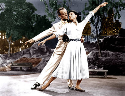 The Band Wagon, From Left Fred Astaire Poster