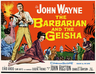 The Barbarian And The Geisha, John Poster by Everett