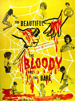 The Beautiful, The Bloody, And The Poster by Everett