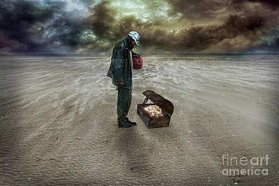 The Beggar Poster by Eugene James