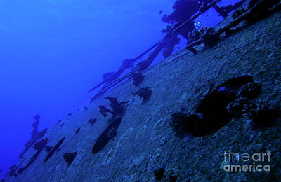 The Belama Shipwreck Poster by Sami Sarkis