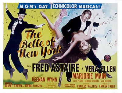 The Belle Of New York, Keenan Wynn Poster