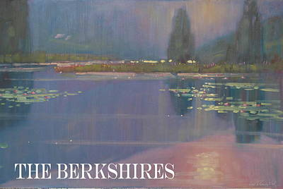 the Berkshires Poster by Len Stomski