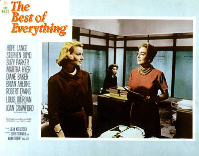 The Best Of Everything, Hope Lange Poster