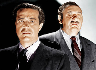 The Big Clock, From Left Ray Milland Poster
