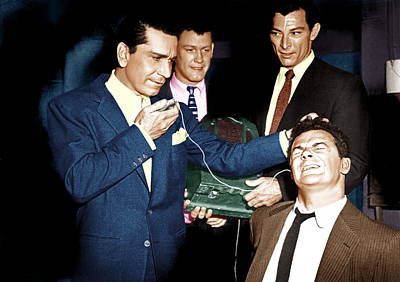 The Big Combo, From Left Richard Conte Poster