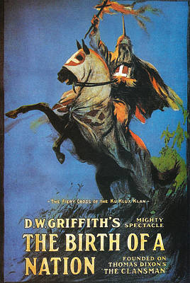 The Birth Of A Nation Poster by Georgia Fowler