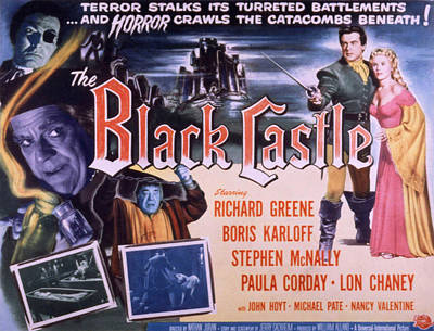 The Black Castle, Boris Karloff, Lon Poster