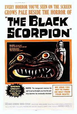 The Black Scorpion, Right Mara Corday Poster