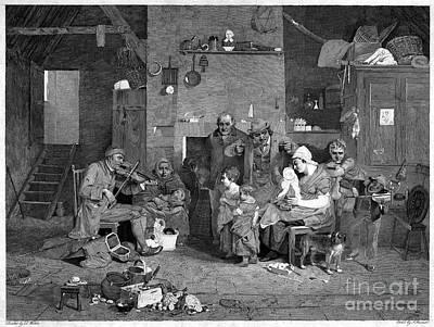 The Blind Fiddler, 1806 Poster
