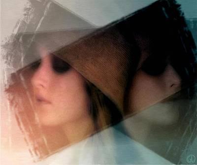 The Blind Side Of You Poster by Gun Legler