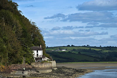 The Boathouse At Laugharne Landscape Poster