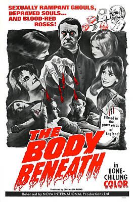 The Body Beneath, Center Top Gavin Reed Poster by Everett
