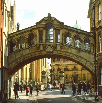 The Bridge Of Sighs Poster by Anne Gordon