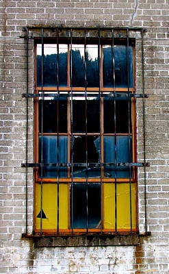 The Broken Window Poster by Karon Melillo DeVega