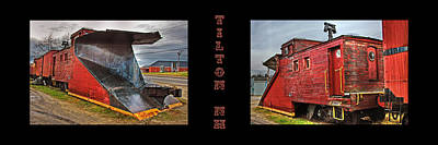 The Caboose Poster by Joann Vitali