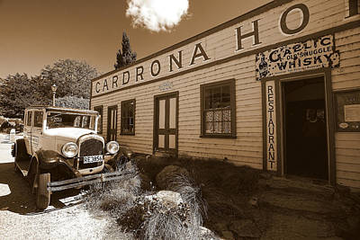 Poster featuring the photograph The Cardrona Hotel by Paul Svensen