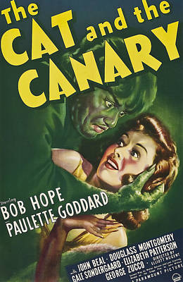 The Cat And The Canary, Douglass Poster
