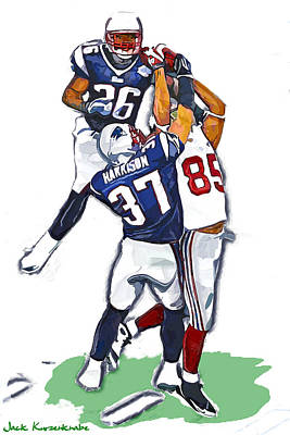 The Catch David  Tyree Poster