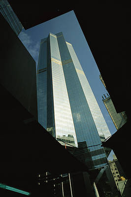 The Centre, A 1135 Foot, 73 Story Poster by Justin Guariglia