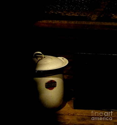 Poster featuring the photograph The Chamber Pot by Newel Hunter