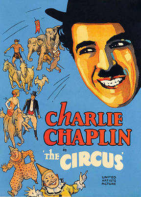 The Circus, Charlie Chaplin, 1928 Poster
