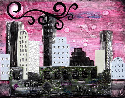 The City Of Ideas Poster by Heather Saulsbury