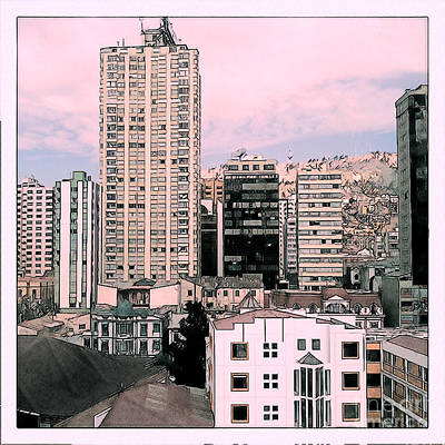 The City Of La Paz Poster