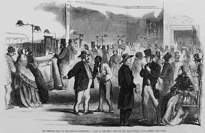 The Civil War. New Yorkers In The Assay Poster