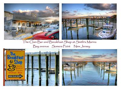 The Clam Bar And Breakfast Shop Poster